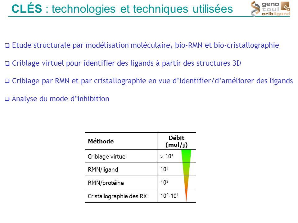 CLÉS : technologies et techniques utilisées