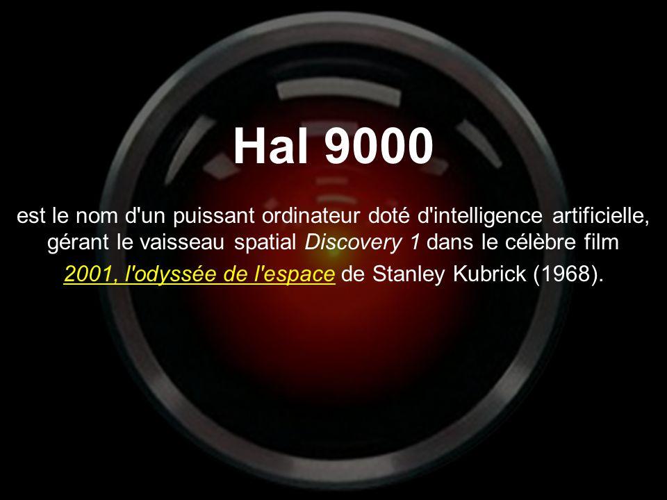 2001, l odyssée de l espace de Stanley Kubrick (1968).