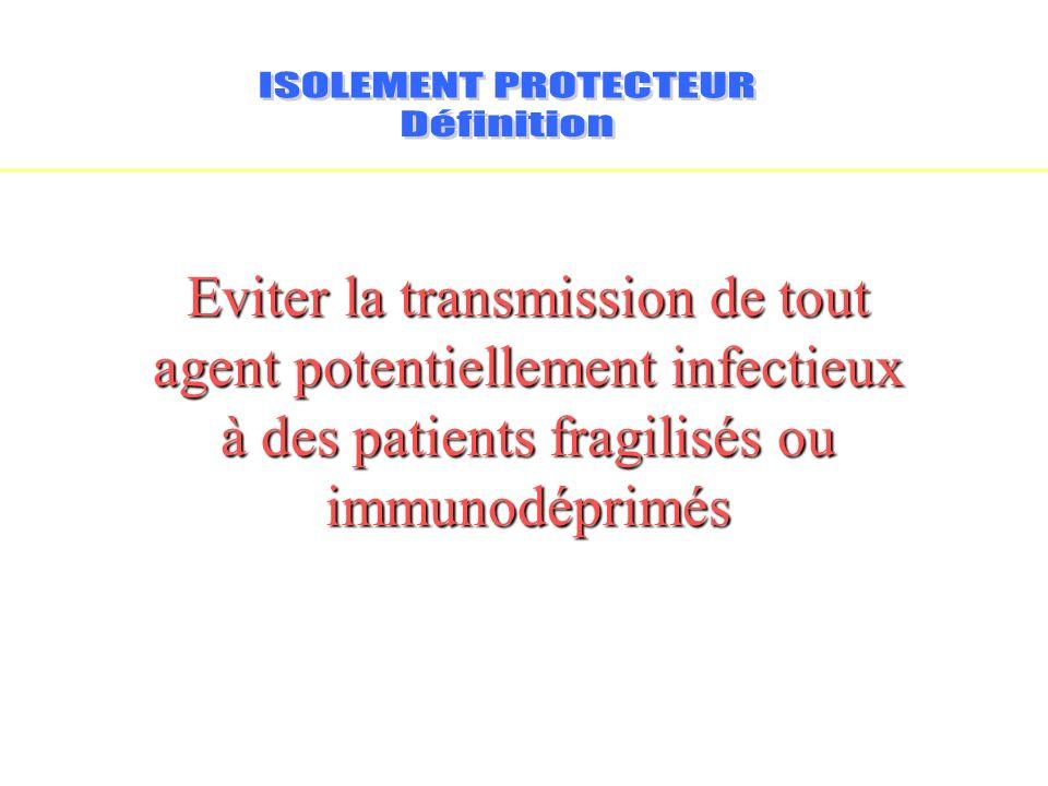 ISOLEMENT PROTECTEURDéfinition.