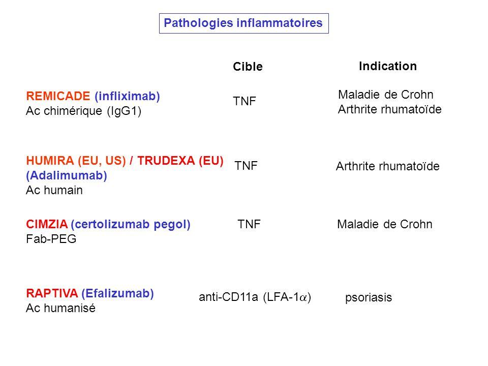 Pathologies inflammatoires