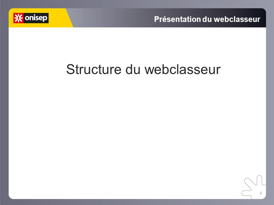 Présentation du webclasseur