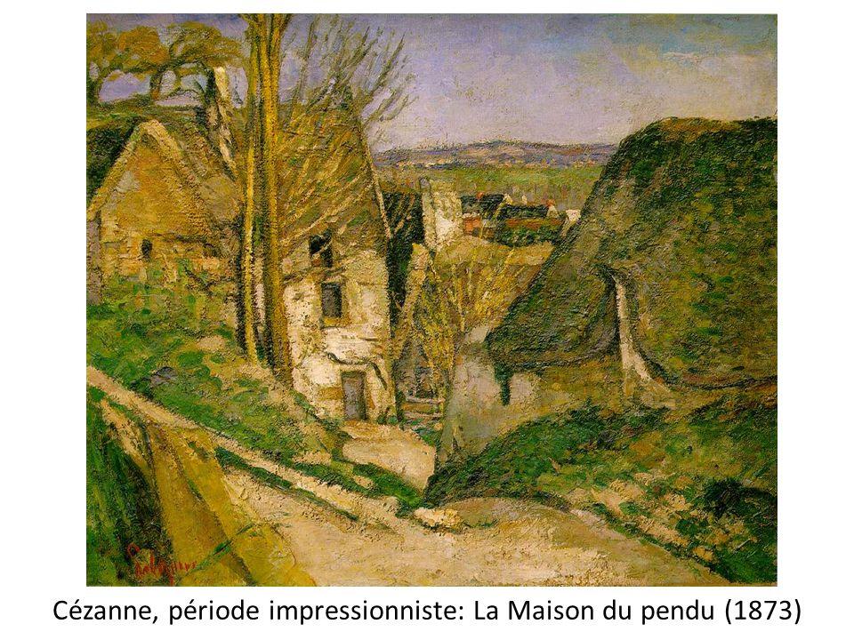 Cézanne, période impressionniste: La Maison du pendu (1873)