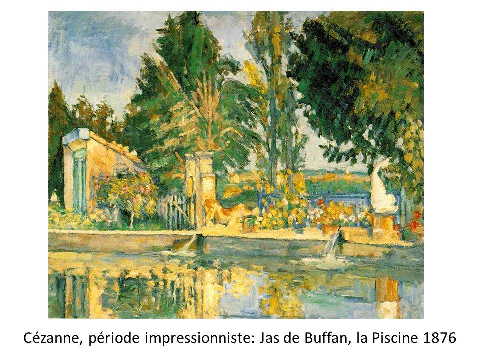 Cézanne, période impressionniste: Jas de Buffan, la Piscine 1876