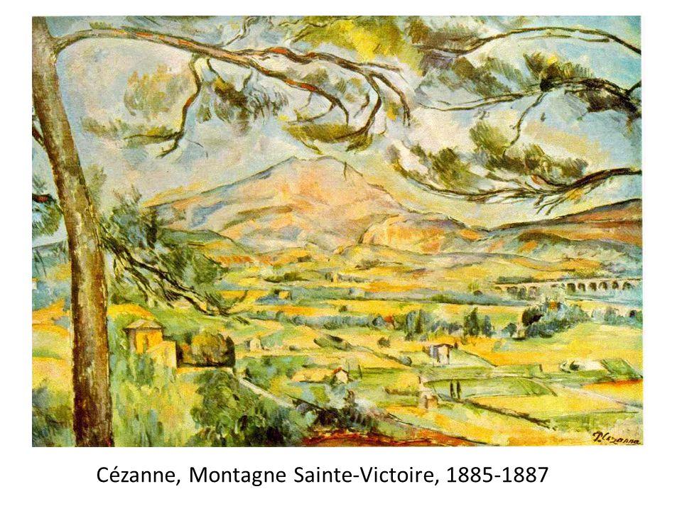 Cézanne, Montagne Sainte-Victoire, 1885-1887