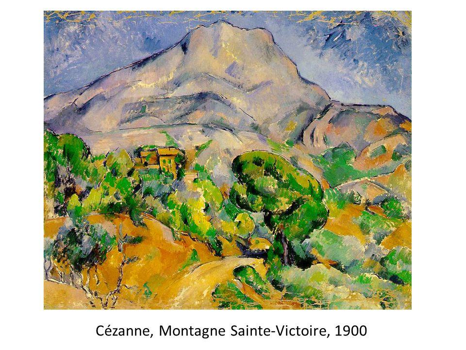 Cézanne, Montagne Sainte-Victoire, 1900