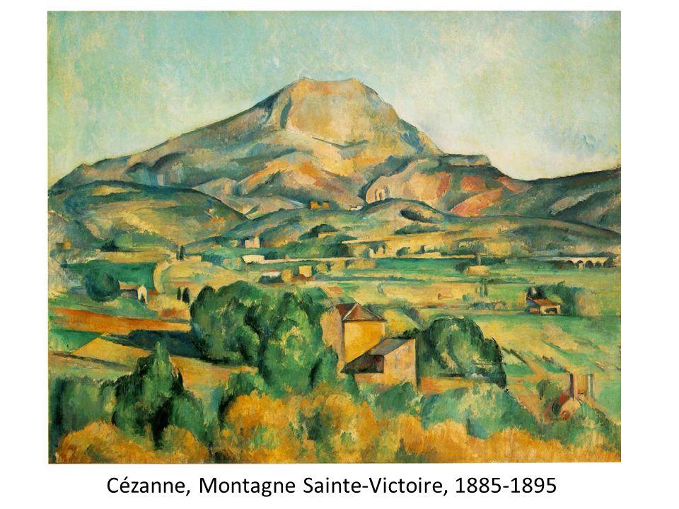Cézanne, Montagne Sainte-Victoire, 1885-1895
