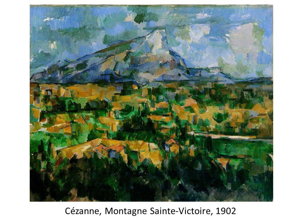 Cézanne, Montagne Sainte-Victoire, 1902