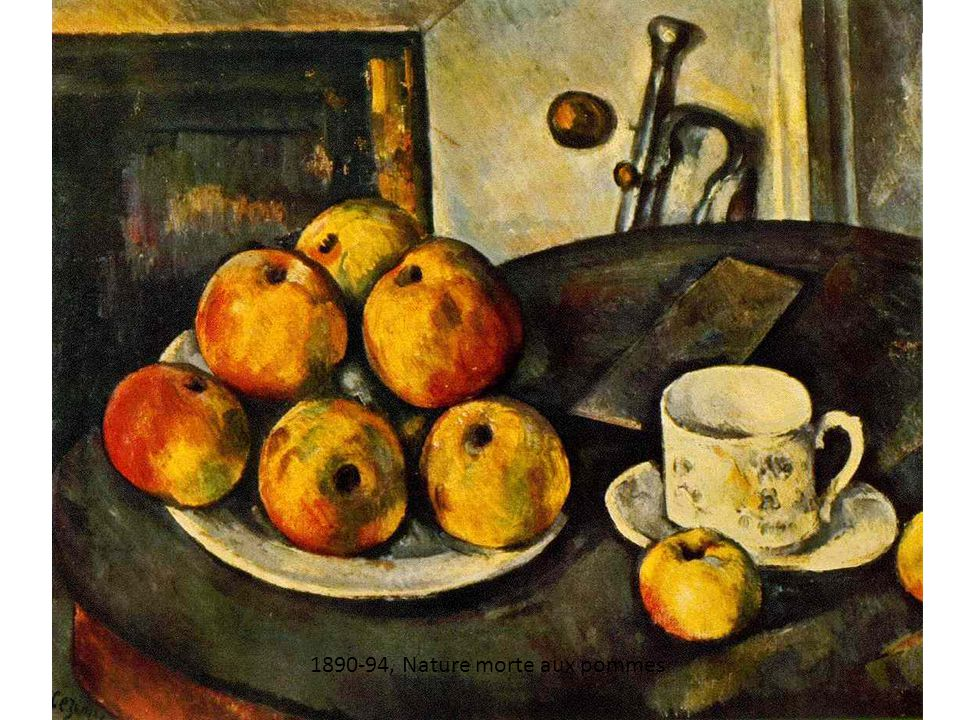 1890-94, Nature morte aux pommes
