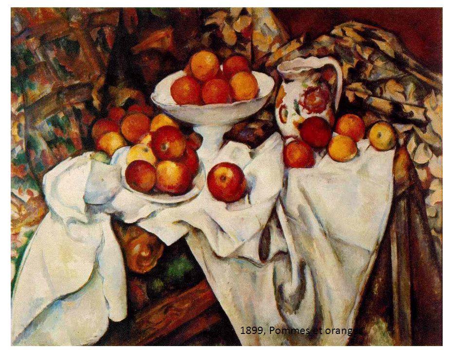 1899, Pommes et oranges, 74x93cm 1899, Pommes et oranges