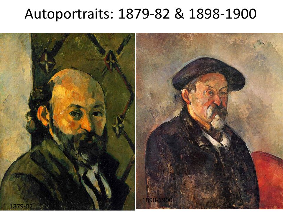 Autoportraits: 1879-82 & 1898-1900 1879-82, Self-Portrait, Autoportrait (1898-1900.