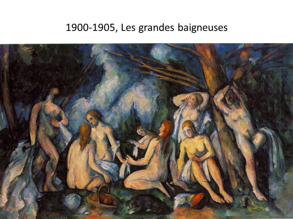 1900-1905, Les grandes baigneuses