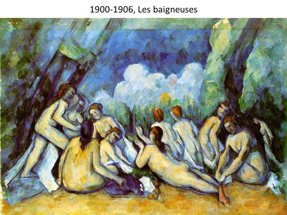 1900-1906, Les baigneuses 1900-1906, Bathers, 130x195cm