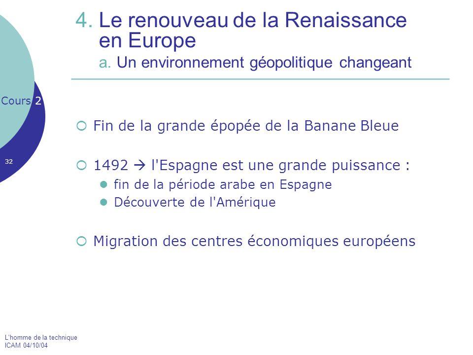 4. Le renouveau de la Renaissance en Europe a
