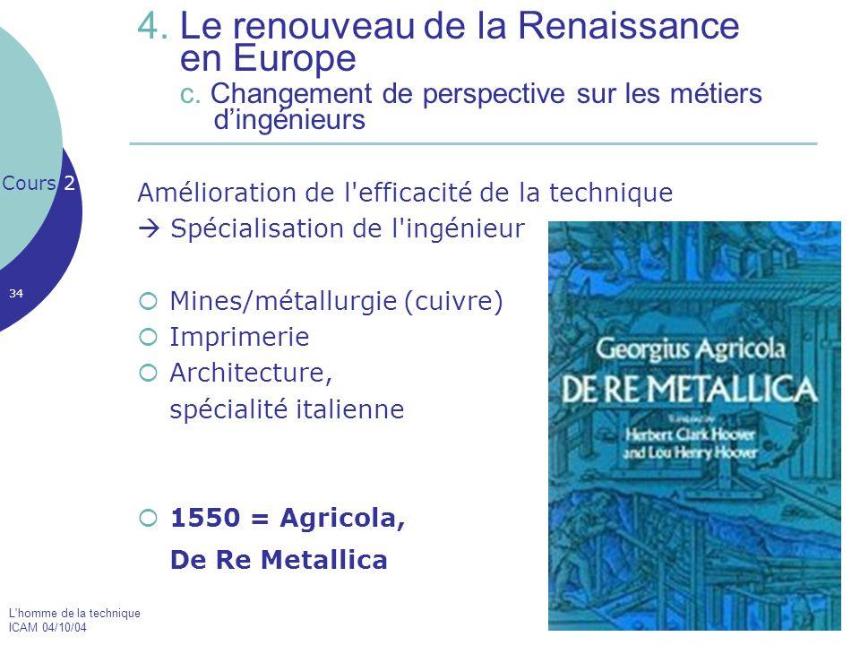 4. Le renouveau de la Renaissance en Europe c