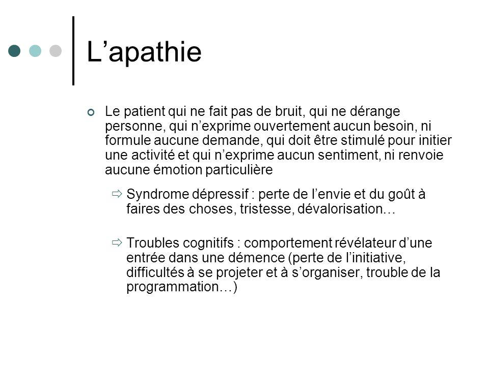 L'apathie