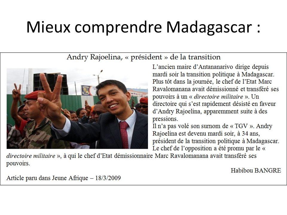 Mieux comprendre Madagascar :