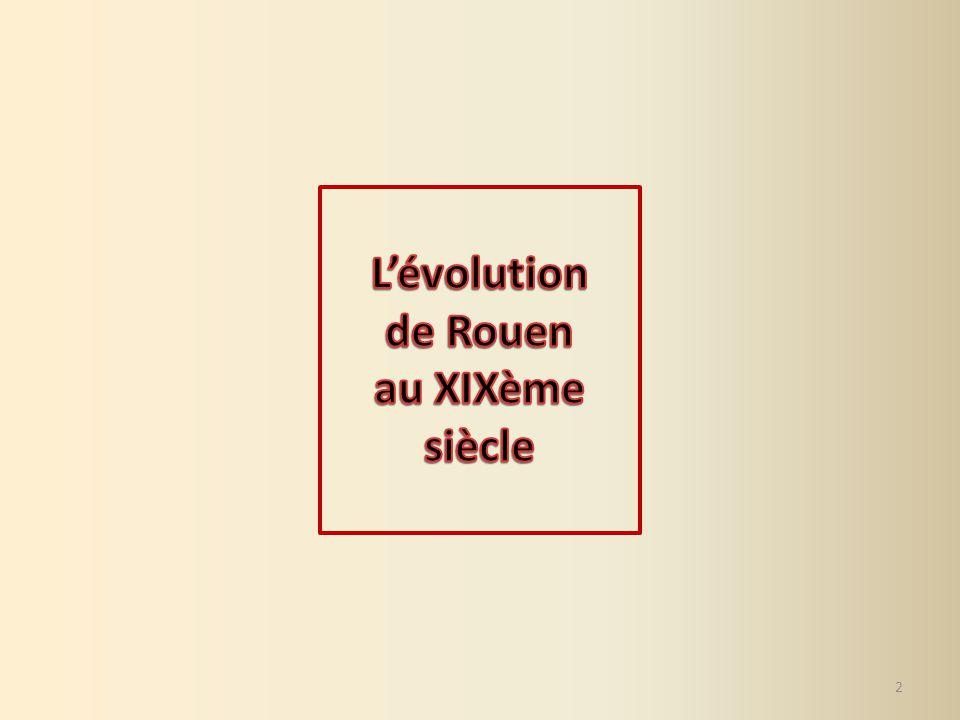 L'évolution de Rouen au XIXème siècle