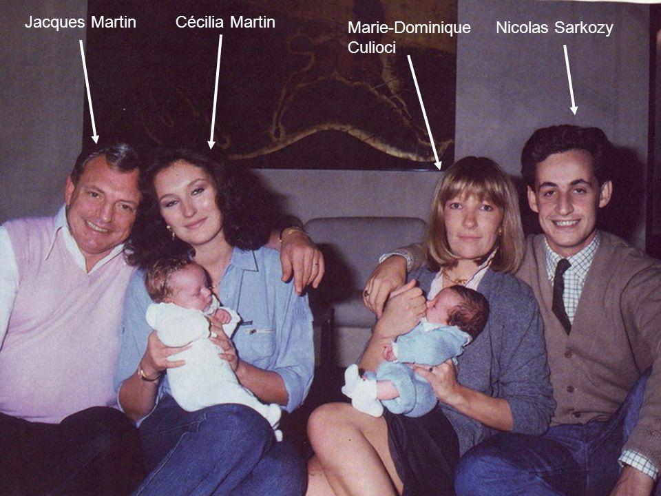 Jacques Martin Cécilia Martin Marie-Dominique Culioci Nicolas Sarkozy
