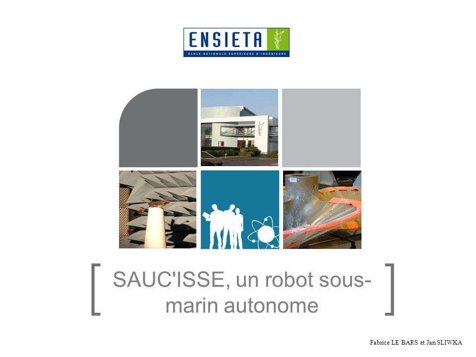 SAUC ISSE, un robot sous-marin autonome