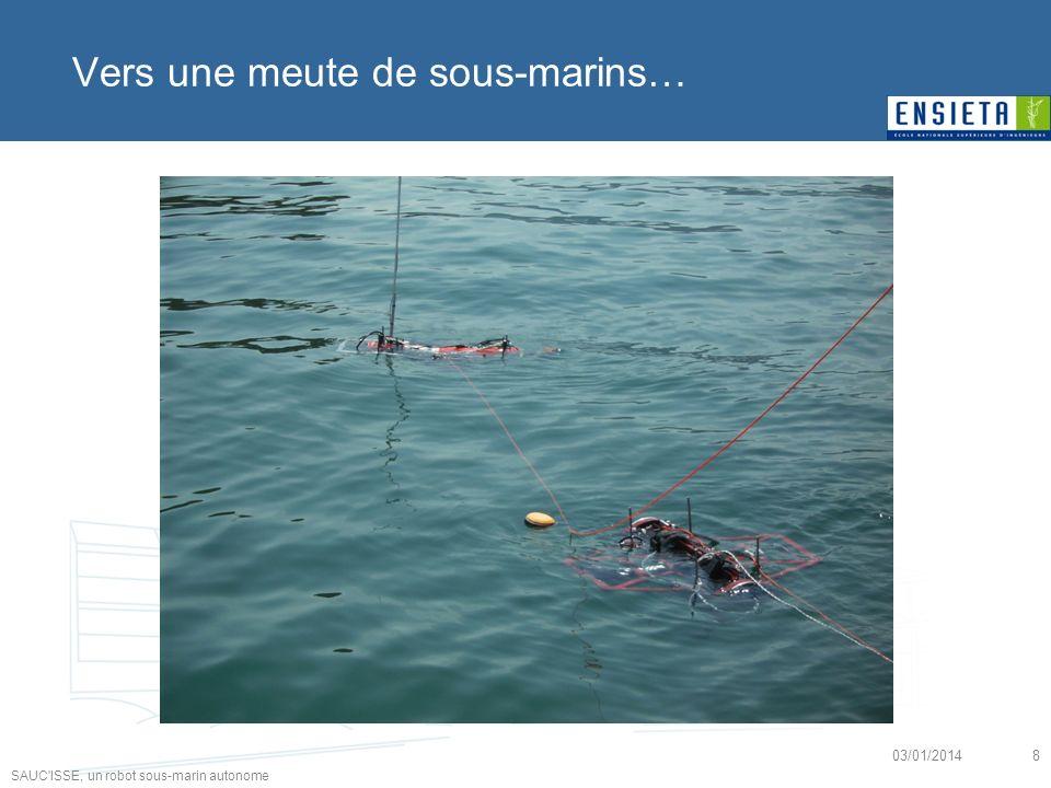 Vers une meute de sous-marins…