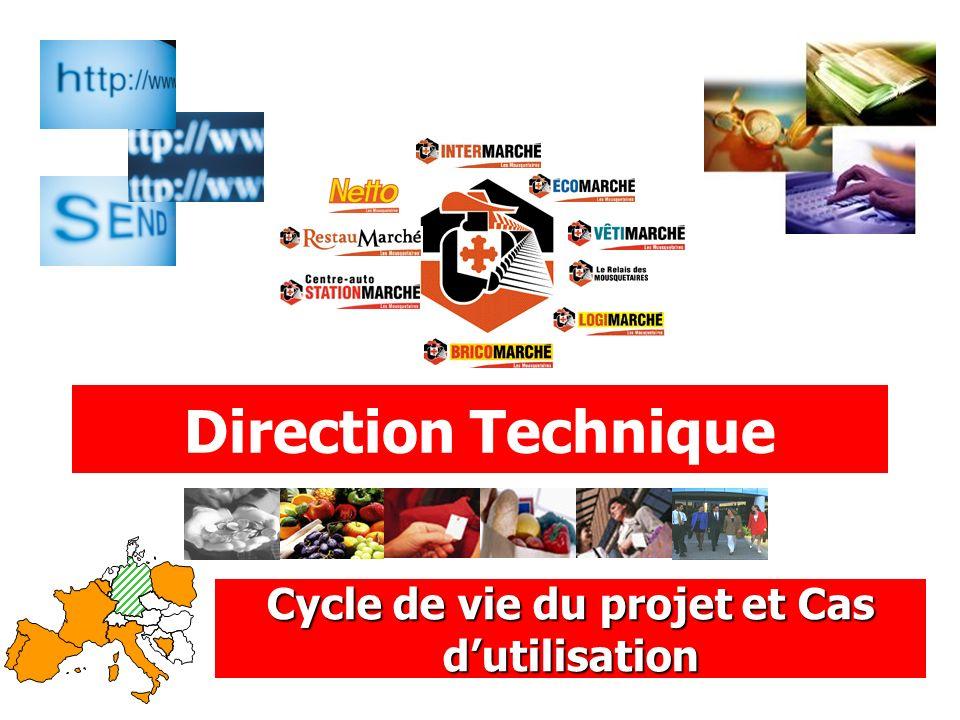 Cycle de vie du projet et Cas d'utilisation