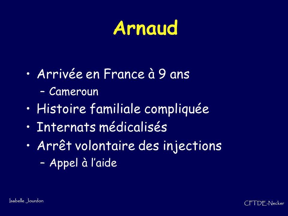 Arnaud Arrivée en France à 9 ans Histoire familiale compliquée
