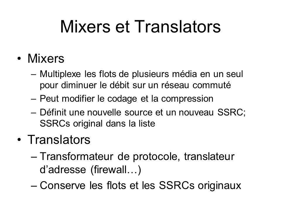 Mixers et Translators Mixers Translators