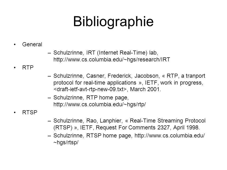 Bibliographie General