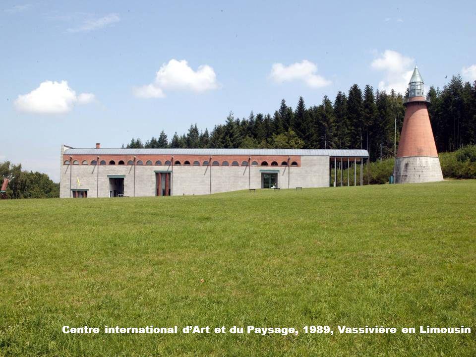 Centre international d'Art et du Paysage, 1989, Vassivière en Limousin