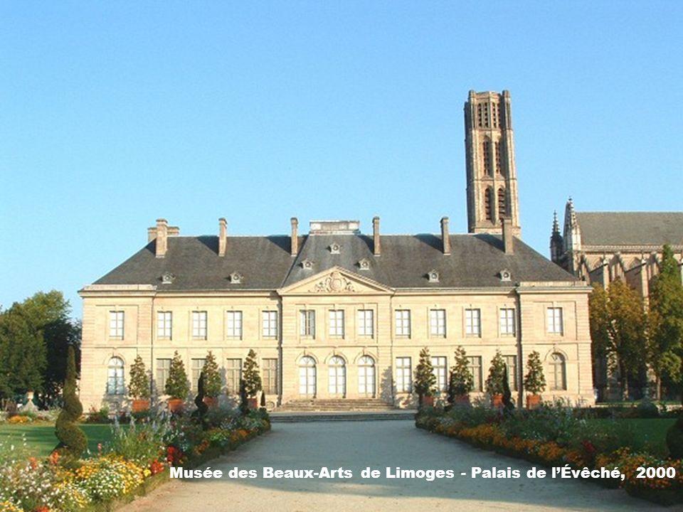 Musée des Beaux-Arts de Limoges - Palais de l'Évêché, 2000