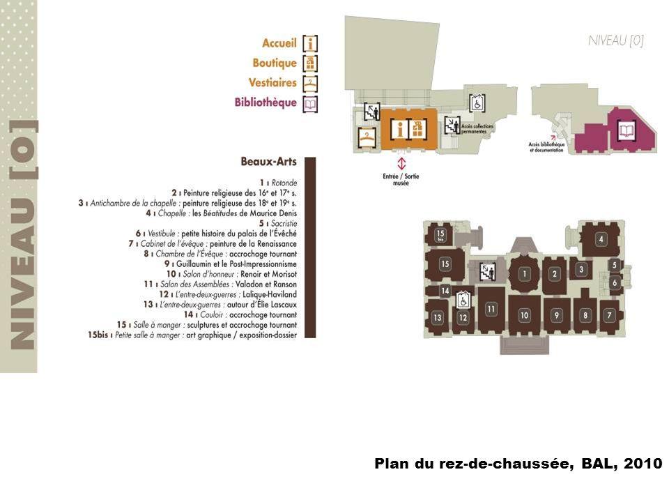 Plan du rez-de-chaussée, BAL, 2010