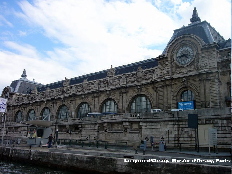 La gare d'Orsay, Musée d'Orsay, Paris