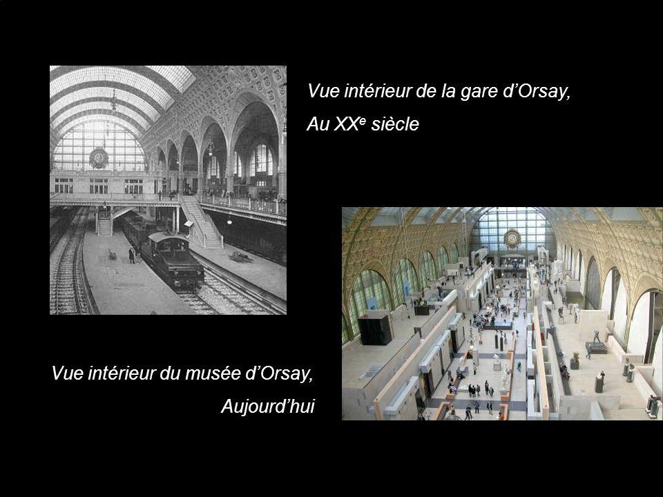 Vue intérieur de la gare d'Orsay,