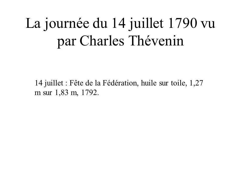 La journée du 14 juillet 1790 vu par Charles Thévenin