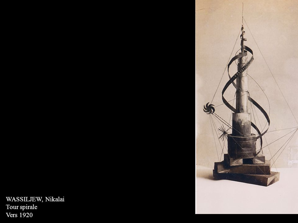 WASSILJEW, Nikalai Tour spirale Vers 1920