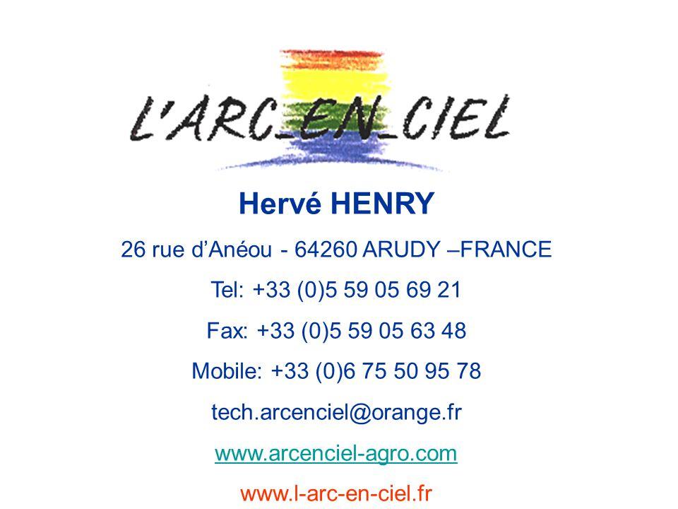 26 rue d'Anéou - 64260 ARUDY –FRANCE