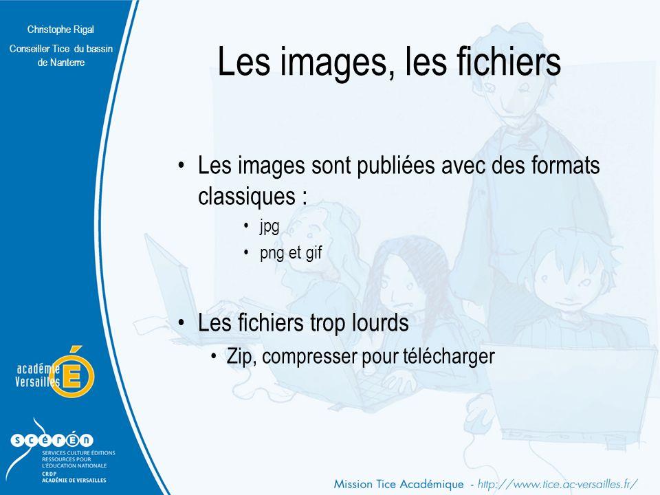 Les images, les fichiers