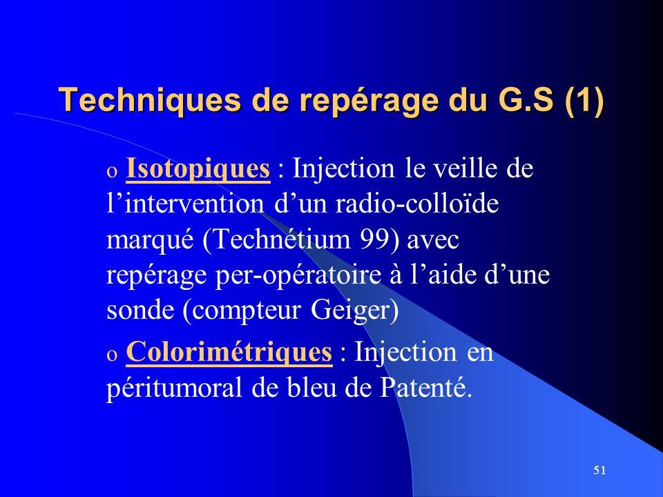 Techniques de repérage du G.S (1)