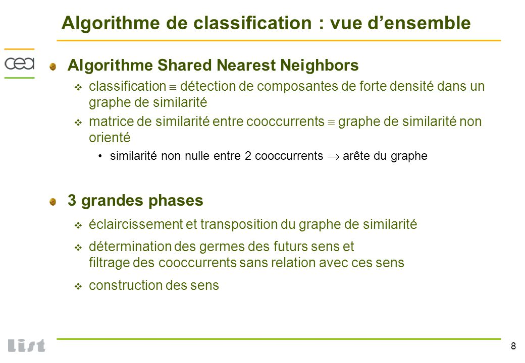Algorithme de classification : vue d'ensemble