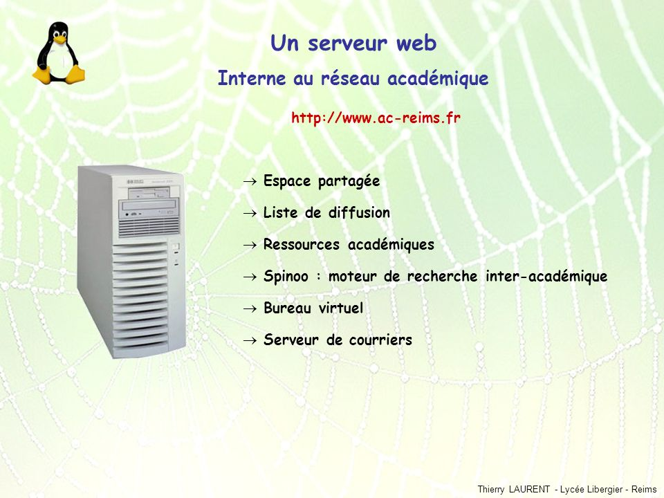 Un r seau d tablissement ppt t l charger - Bureau virtuel univ reims ...