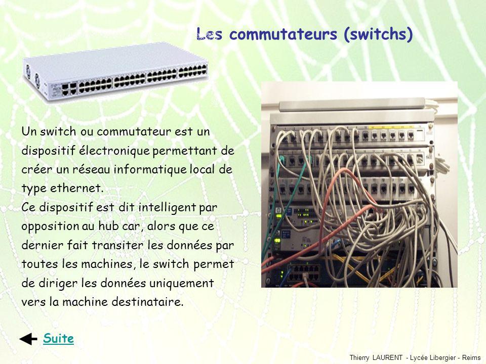 Les commutateurs (switchs)