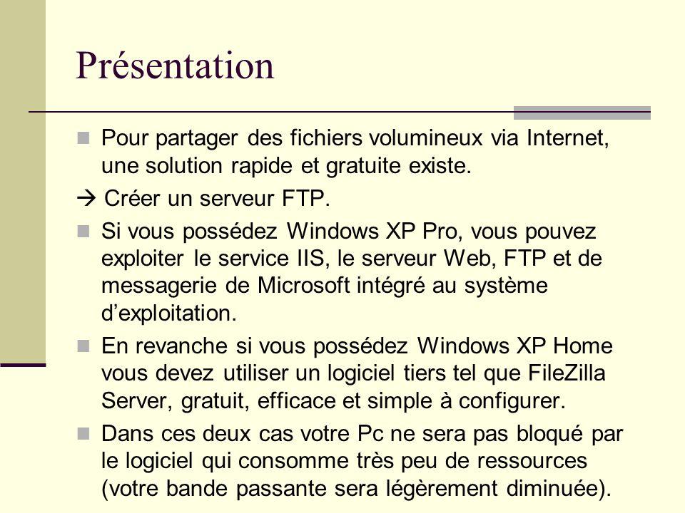PrésentationPour partager des fichiers volumineux via Internet, une solution rapide et gratuite existe.