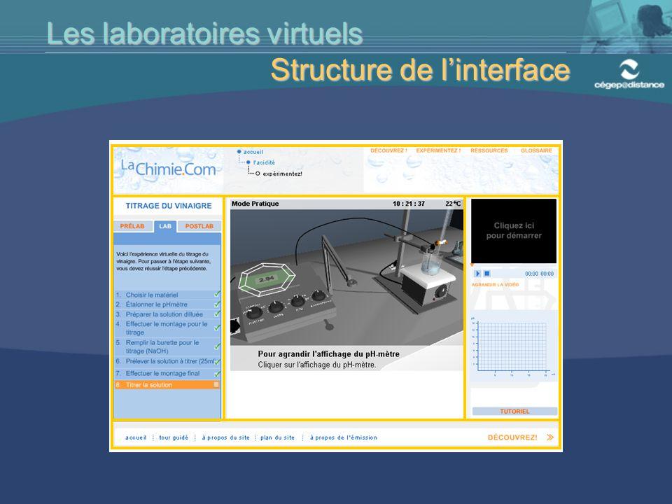 Les laboratoires virtuels