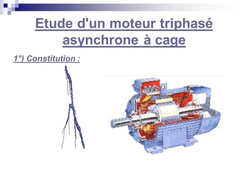 Etude d un moteur triphasé asynchrone à cage
