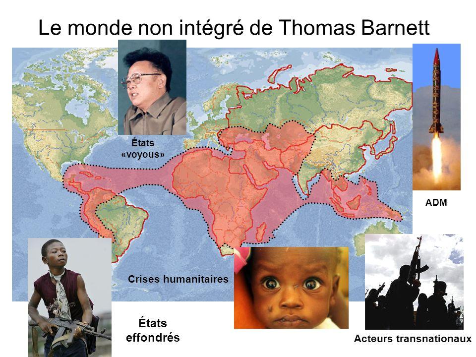 Le monde non intégré de Thomas Barnett
