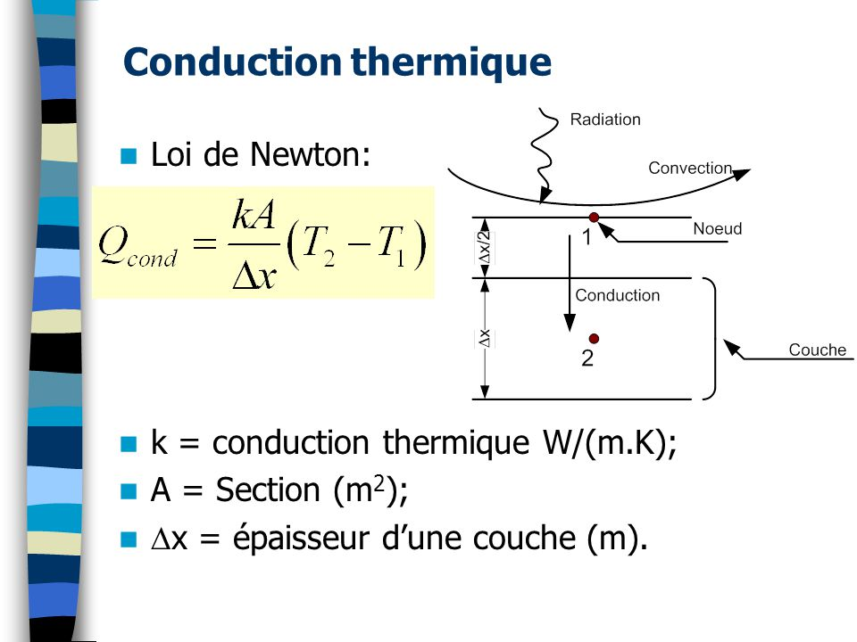 Cours 6 mesure de temp rature ppt t l charger - Coefficient de conduction thermique ...