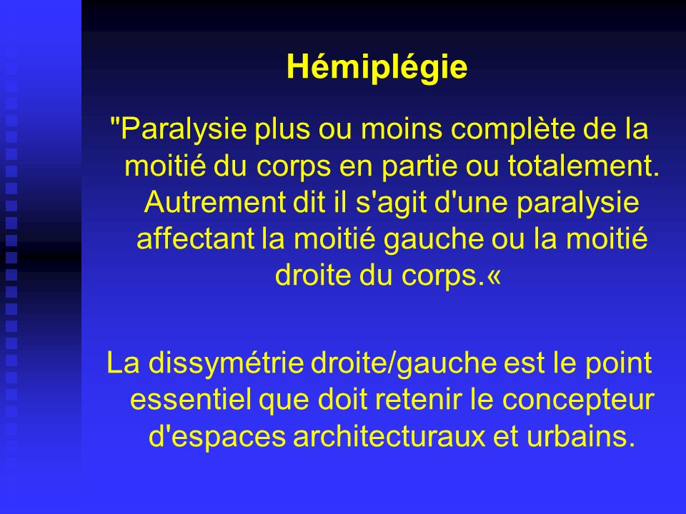 Hémiplégie