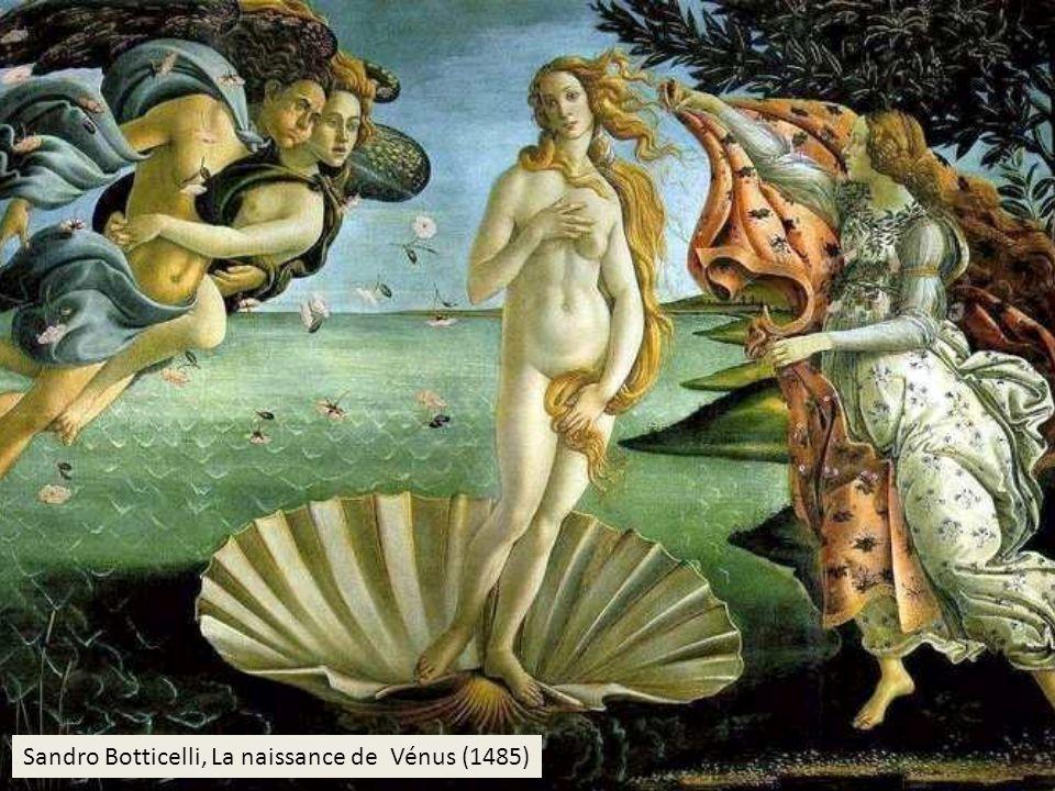 Sandro Botticelli, La naissance de Vénus (1485)