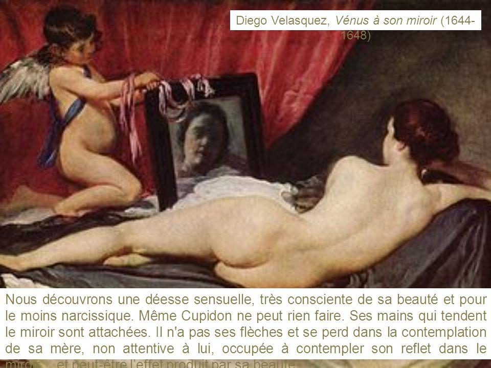 Diego Velasquez, Vénus à son miroir (1644-1648)