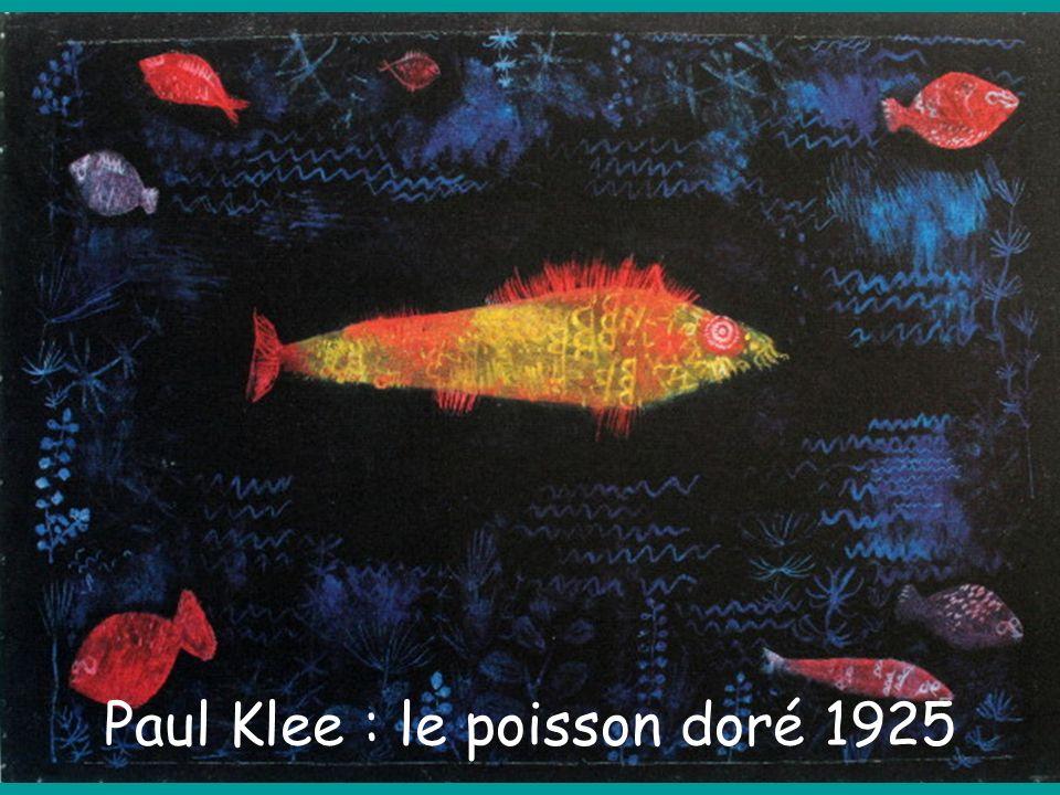 Paul Klee : le poisson doré 1925
